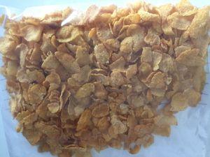Nuggets de dinde aux pétales de maïs