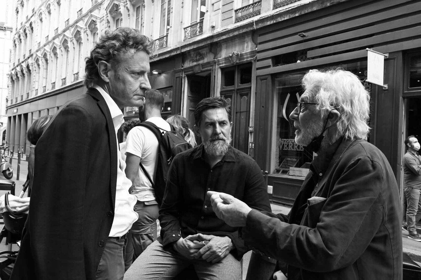 Philippe Bouchet, Franck Chalendard, Pierre Buraglio