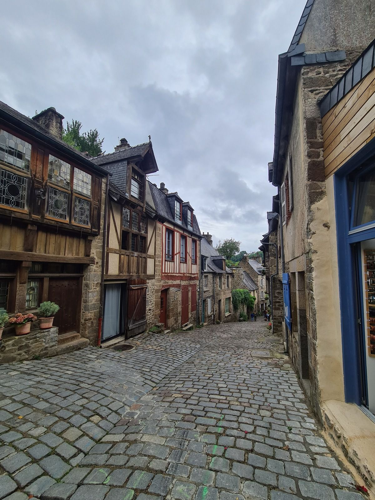 rue de Dinan maisons à colombages