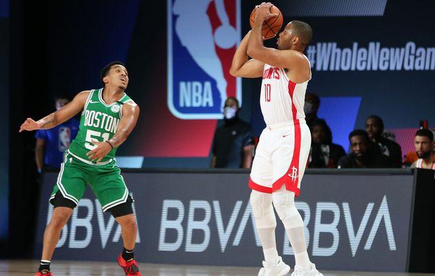 Les Rockets dominent facilement les Celtics mais perdent Eric Gordon pour deux semaines