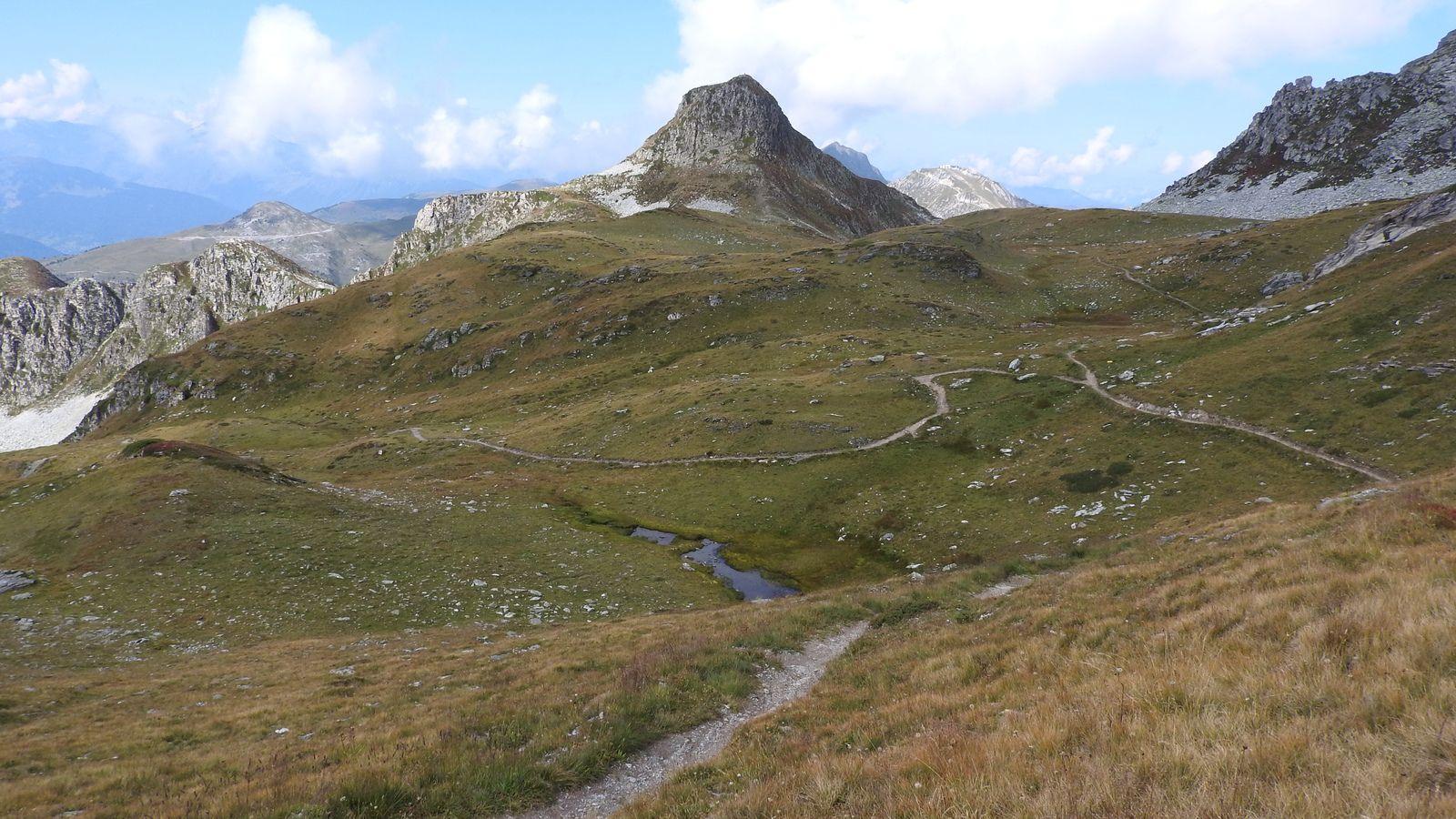 Vues sur le vallon côté Tougne