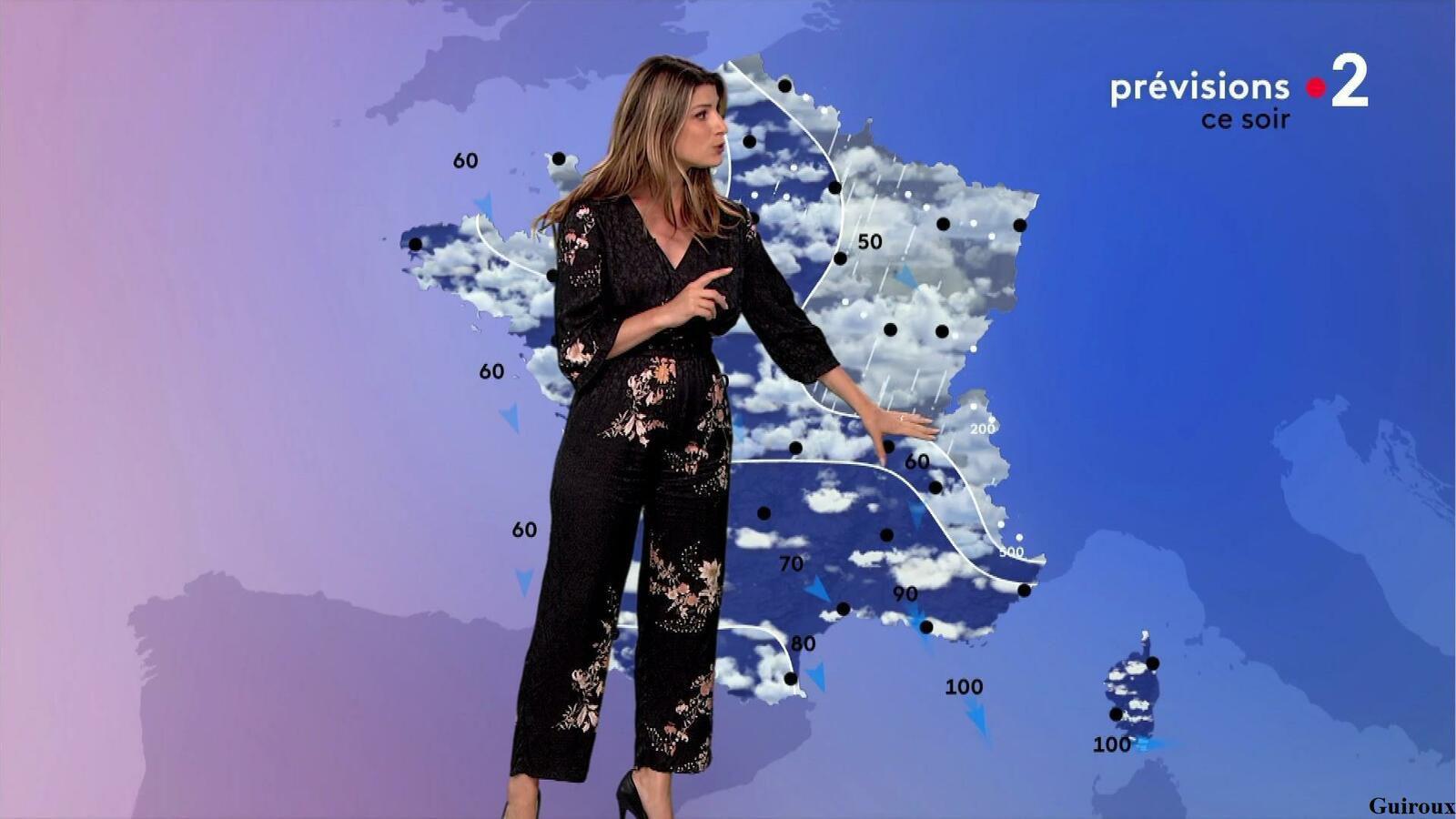 Chloé Nabédian 06/04/2021 Journaux météo du soir
