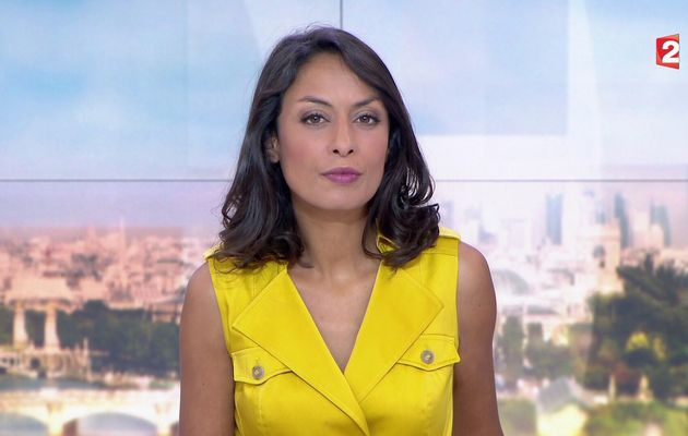 📸15 LEILA KADDOUR @Leilakan ce soir pour LE 13H WEEK-END @France2tv #vuesalatele