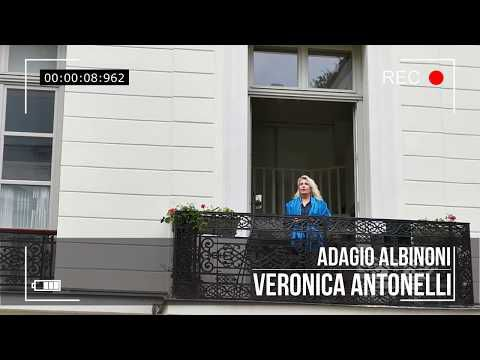 Fete de la musique 2020 Adagio Albinoni Veronica Antonelli From My Balcony