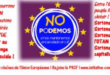 Entre l'Euro et le peuple, PODEMOS choisit l'euro ! #europe #grèce #espagne