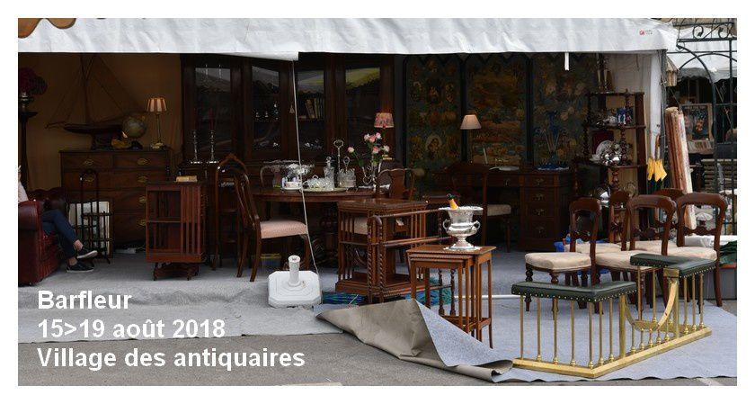 Barfleur : le village des antiquaires