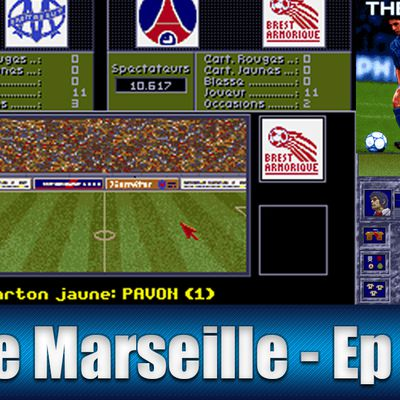 The Manager fr / Amiga / Gameplay / Olympique de Marseille / Episode 14