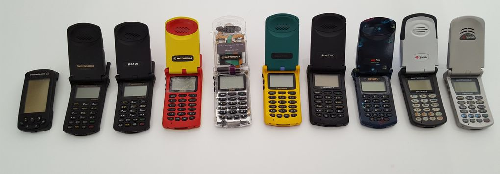 StarTac Motorola collection privée Mobilophiles.com