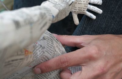 La technique du papier mâché