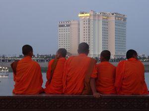 Cambodge, Kratié et Phnom Penh...