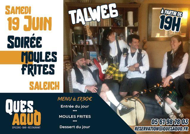 Saleich -  QU'ES AQUÒ_Restaurant - Bar - Salon de Thé - Épicerie - Musique avec Talweg