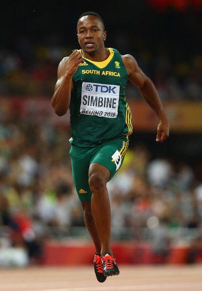 Akani Simbine, otro velocista sudafricano.- El Muni.