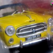 FASCICULE N°47 PEUGEOT 403 BERLINE MOKA CAFETIERE PRESSION SEB IXO 1/43 - car-collector.net