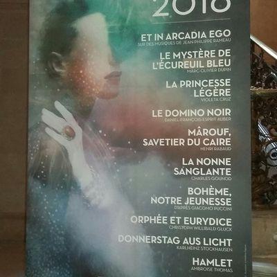 Vivement 2018 à l'Opéra comique !