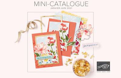 Mini catalogue janvier - juin 2021 Stampin'Up !