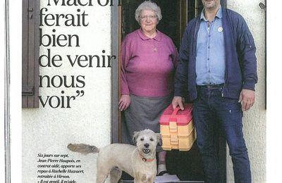 JEAN-PIERRE HAUPOIS : « MACRON FERAIT BIEN DE VENIR NOUS VOIR ».
