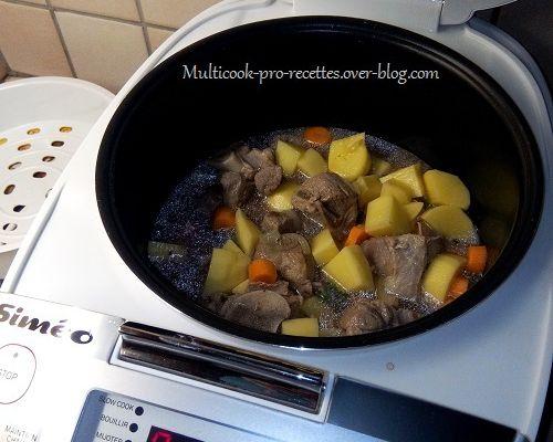 "Ragout Irlandais à la ""Guiness"" (Irish stew)"