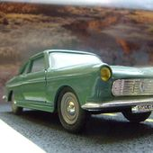 PEUGEOT 404 COUPEE 1964 1/43 ELIGOR - car-collector.net
