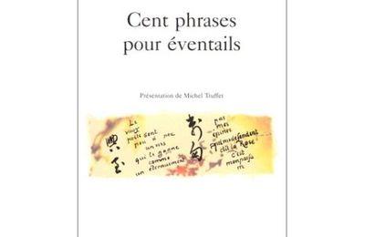 Paul Claudel - Cent phrases pour éventails