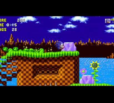 Sonic The Hedgehog sur Android