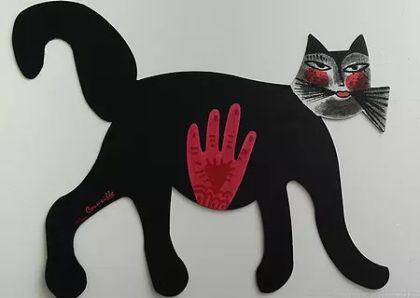Ο μαύρος γάτος - Le chat noir - Thanasis Papakonstadinou et Vasilis Papakonstadinou