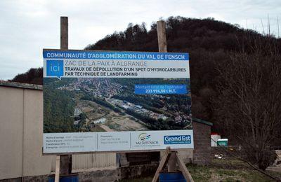Réunion pour la dépollution de la ZAC La Paix à Algrange en 2019