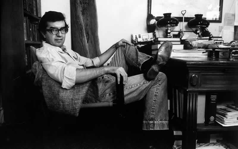 Larry McMurtry on October 1, 1978.