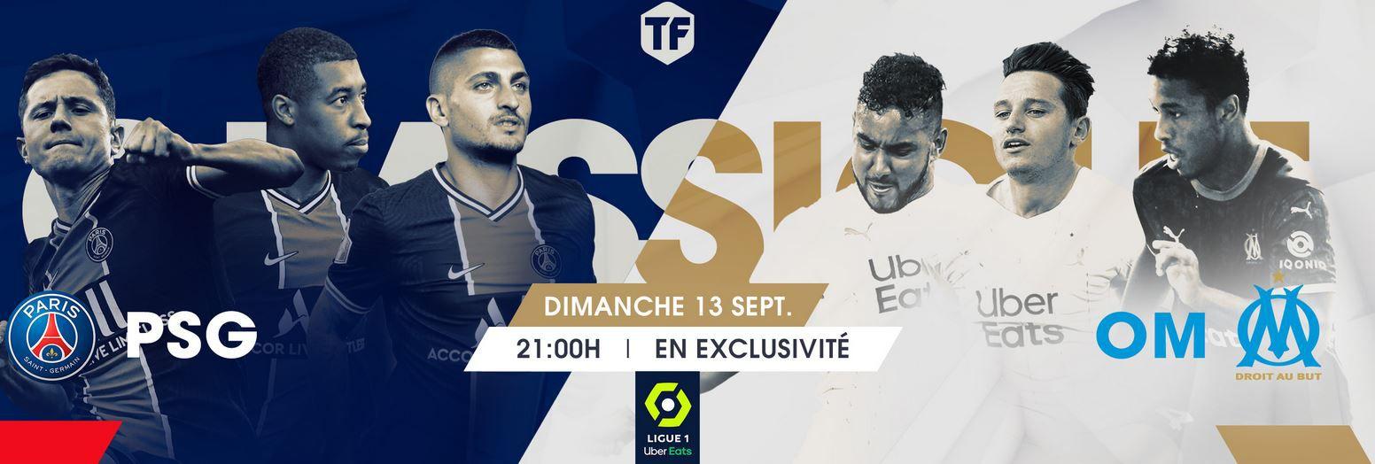 Paris SG / Marseille (Ligue 1) en direct ce dimanche sur Téléfoot la chaîne !