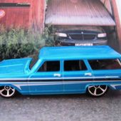64 CHEVY NOVA STATION WAGON HOT WHEELS 1/64 - car-collector.net