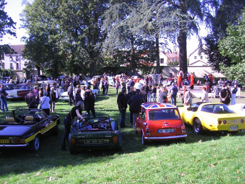 Les Belles du Vert Galant 2012 Exposition, concourt d'élégance voitures anciennes Tremblay en France 93, 95photos