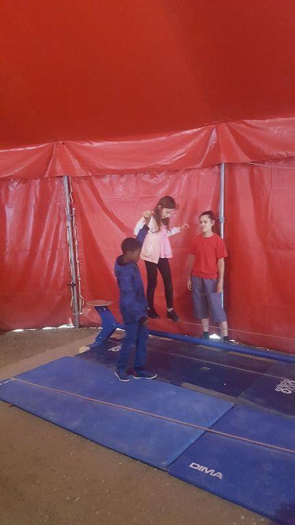 La journée au cirque des CE2B