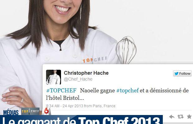 Le gagnant de Top Chef 2013 déjà révélé !
