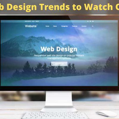 7 Modern Web Design Trends to Watch Out for 2020