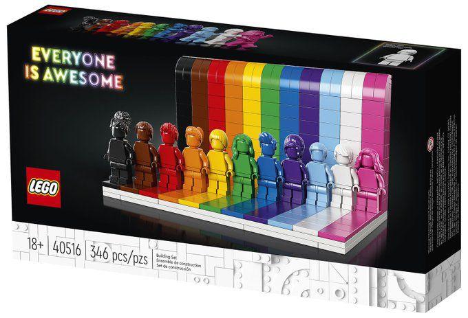 Des Lego pour les enfants gais, trans et/ou non genrés