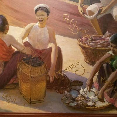 Paintings from the colonies - Quai Branly (Paris)