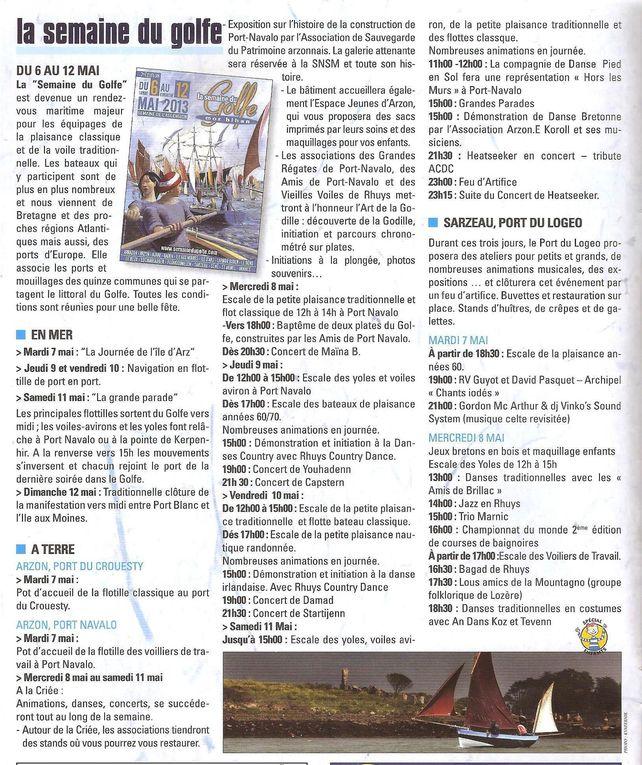 Album - Semaine du golfe du Morbihan 2013