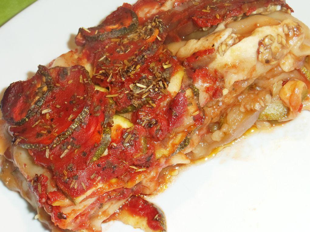 Lasagnes de légumes express