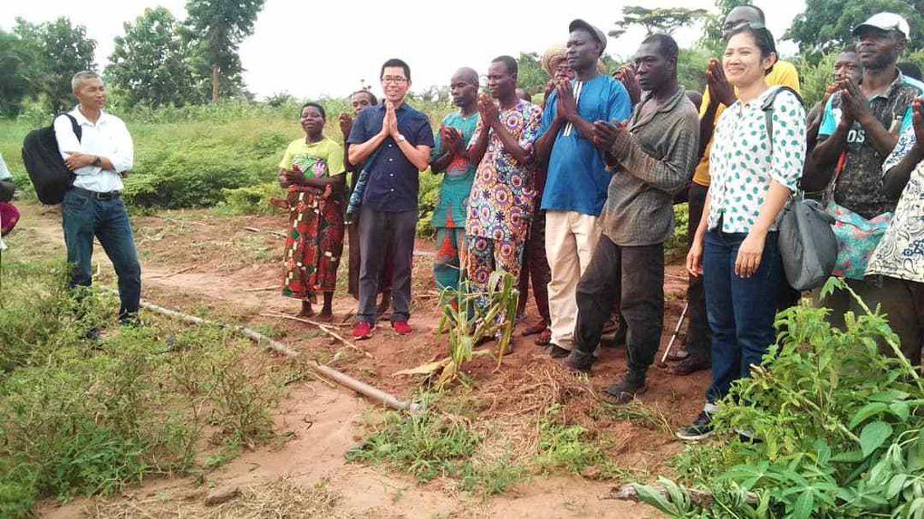 Familles Rurales à WALINCOURT SELVIGNY et familles du Bénin