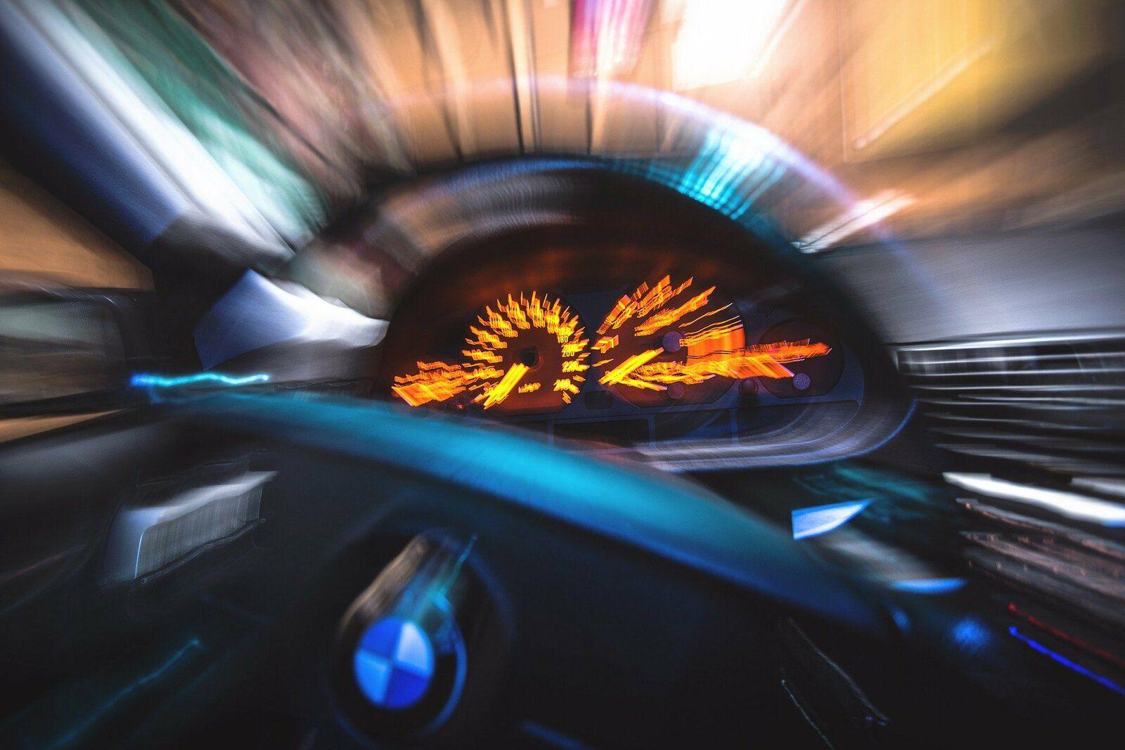 Caen grand excès de vitesse
