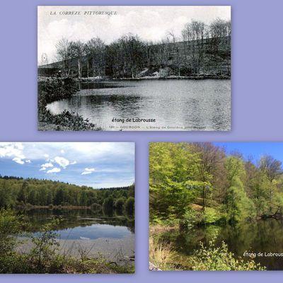 Gourdon-Murat d'hier et d'aujourdhui:l'étang de Labrousse