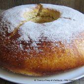 Fouace Aveyronnaise, la douceur du Rouergue - Thierry d'Issy et d'ailleurs dans sa cuisine et ses casseroles !