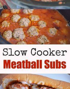 Slow Cooker Meatball