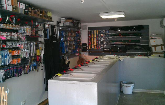 Nouveau magasin de Surfcasting le St Pierre Sur le Port de St Cyr