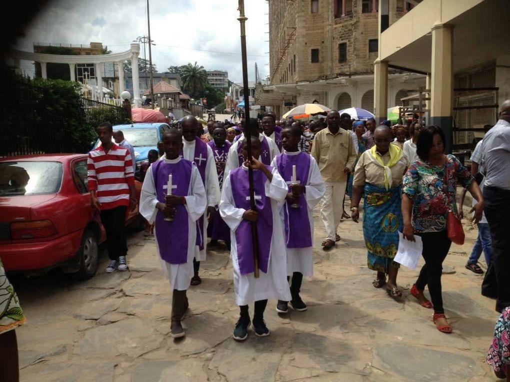 Les chrétiens pacifiques lors de la marche du 25/02/2018