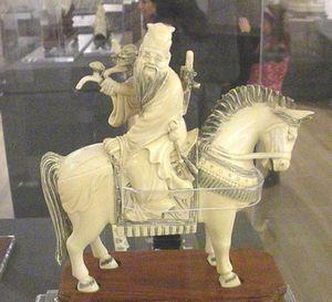 Au musée Soumaya de Mexico, une prestigieuse collection d'ivoire asiatiques : Asia en marfil