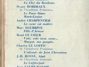 J.-H. Rosny aîné - Le Coffre-fort (Baudinière - 1942)