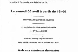 CONCOURS BELOTE (New) !