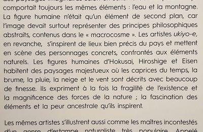 Hokusai, Hiroshige, Utamaro... Les grands maîtres du Japon.