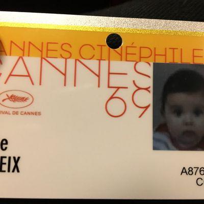 La plus jeune cinéphile du Festival de Cannes