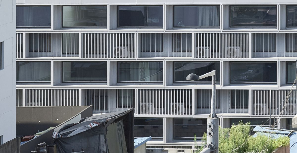 HADAEWON HOUSING BY KIM KIWON + KELLY LWU / KKKL, LOCATED IN SEONGNAM, KOREA